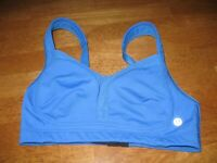 Lululemon sports bra Ta Ta Tamer 32C blue yoga run