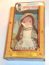 "VINTAGE anni 1970/anni'80 Knickerbocker Toys - ""Heather"" HOLLY HOBBIE 5 pollici in Scatola"