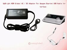 AC Adapter For Apogee Electronics Quartet OUT USB Audio Interface Power Supply