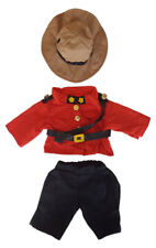 """Royal Canadian Mountie Outfit Fits Most 14"""" - 18"""" Build-a-bear and Make Your Own"""
