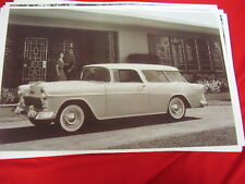 1955 CHEVROLET  NOMAD STATION WAGON    BIG 11 X 17  PHOTO /  PICTURE