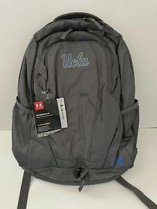 "Under Armour UCLA Bruins Hustle 3.0 Performance 15"" Laptop Backpack Gray Grey"