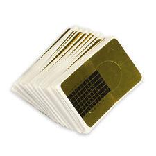 100PCS Professional Nail Forms Acrylic Nails Gel Nails Extension Nail Sticker