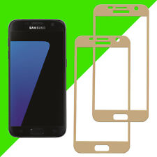 2x 3D 9H-Panzer Glasfolie Displayschutz Samsung Galaxy S7 Curved Full Screen