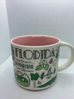 New Starbucks Been There Series Collection 2017 Florida 14 Oz Ceramic Cup Mug