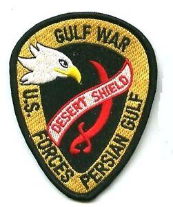 """Désert Bouclier Gulf Guerre Trophy '90 à Repasser Patch :1ST Cavalerie ("""""""