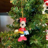 "Vintage Disney Minnie CHEERLEADER Sporty Minnie Mouse 1.75"" Ornament"