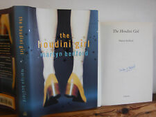 The Houdini Girl by Martyn Bedford hardback in dustwrapper 1998 signed by author