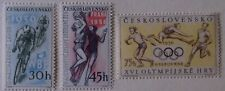 Czechoslovakia Stamp 747-9 MNH Cat $6.85 Olympic, Sports Topical