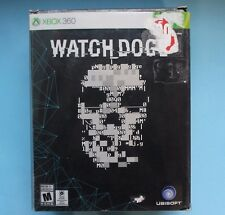 Watch Dogs -- Limited Edition (Microsoft Xbox 360, 2014) COMPLETE