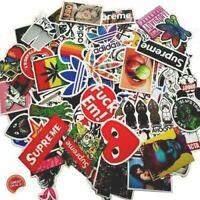 100 sticker hypebeast Stickers  Pack for skateboard, laptop, car,weed, bape