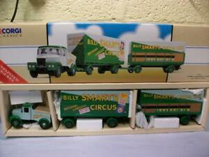 Scammell & 2 Trailer Set 'Billy Smart's Circus' Corgi No 97897 1:50 Unused!