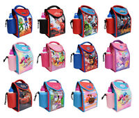 Kids Children Insulated Lunch Bag Box And Drink Sport Water Bottle Set
