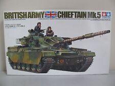 Vintage Tamiya 1/35 Scale British Army Chieftain Mk.5 Tank Kit #35068 NIB