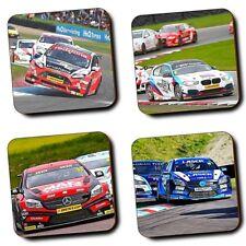 British TOURING CAR CHAMPIONSHIP RACING-Auto-Motorsport-Set di 4-in legno