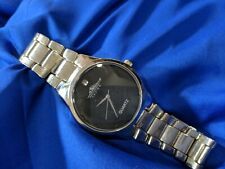 Muckleshoot casino quartz silver tone band watch, new battery