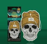 Désodorisant Parfum Voiture A Suspendre Aroma Car Hat Skull - Dia De Los Muertos
