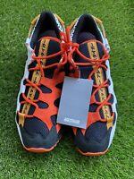 Asics Tiger Gel Mai Black Orange White Running Tennis Shoes Mens Size 10.5 New