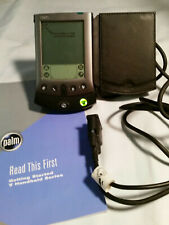 Palm Hand Held Personal Organizer with Charging Cable pre owned