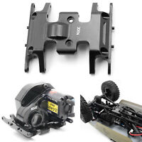 Protective Metal Gearbox Skid Plate Upgrade For Axial SCX24 90081 RC Model Car
