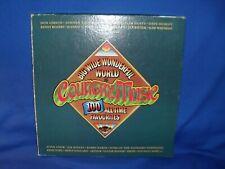 BIG WONDERFUL WORLD OF COUNTRY MUSIC - AUSTRALIAN 5 LP RECORD BOX SET