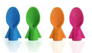 2 UNIVERSAL FOOD POUCH SPOONS  BPA Free for Food Pouches By Cherub Baby