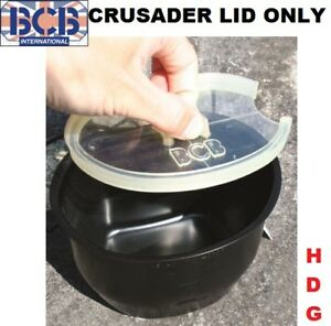 GENUINE BCB CRUSADER CUP MUG LID / COOKING UNIT WATER POUCH BOTTLE BRITISH ARMY