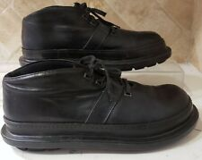 Rundholz shoes black leather boots size 41 us 11