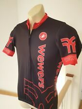 Castelli Wewers Cycling Jersey Shirt Full Zipped Itlay made