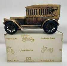 Antique Auto Coin Bank Piggy Bank Banthrico 1917 Pierce Arrow Vintage New In Box