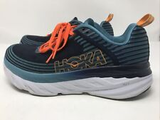 Hoka One One Bondi 6 Athletic Running Shoes -1019279 Bisb -Blue -Men's Size 10