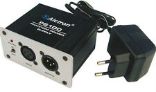 Alctron Ps100 Phantom Power Supply para micrófonos de condensador