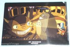 My Neighbor Totoro Cat A5 Mini Plastic File Folder # 01