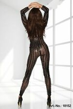 CELEBRITY BLACK STRETCH  SEXY PARTY  JUMPSUIT UNIQUE STYLE XS-M SIZE