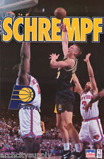 POSTER: NBA BASKETBALL: DETLEF SCHREMPF - INDIANA PACERS - FREE SHIPPING ! RW4 Q