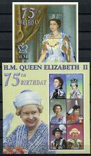MALEDIVEN MALDIVE 2001 Königin Elisabeth II. QE II Royalty 3784-3789 + Block 494