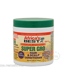 africa's BEST Fuerza Maxima Súper PELO gro & Cuero Cabelludo Acondicionador