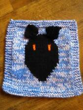 Greyhound Patchwork Blanket Panel Knitting Pattern