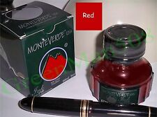 MonteVerde Lubricated ITF Fountain Pen Ink - RED - New