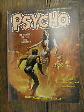 Psycho n° 2  / 1972 / Bandes dessinées pour adultes
