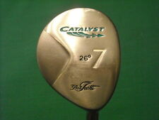 LADIES BOB TOSKI CATALYST 7 WOOD 26* - GRAPHITE SHAFT  - VERY GOOD CONDITION!