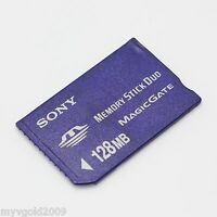Sony 128MB Memory Stick MS Duo,128MB MS For Sony Old Camera/PSP/Recorder