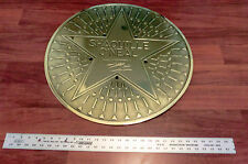 Shaquille O Neil Brass Medallion Autographed/Inscribed ** Rare **