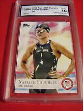 NATALIE COUGHLIN SWIMMING 2012 TOPPS US OLYMPIC # 9 GRADED 10 L@@K