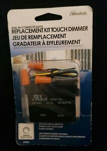 Westek Touch Dimmer - Universal Replacement Kit #6503BC - New in Package!!!