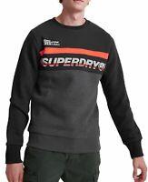 Superdry Worldwide Panel Logo Overhead Sweat Crew Neck Sweatshirt Top Nordic