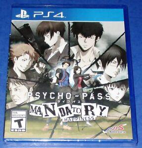 Psycho-Pass: Mandatory Happiness PS4 *Factory Sealed! *Free Shipping!