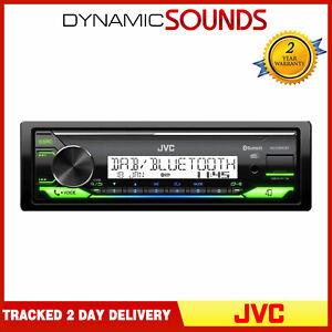JVC KD-X38MDBT - Mechless Médias Numériques Bluetooth Récepteur DAB+ USB Stéréo