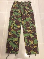 British Military TROUSERS, COMBAT, TROPICAL, JUNGLE, DPM 80/76/92 Small / Medium