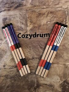 COZYDRUM PRO ROD (BIRCH JUNIOR  DRUM STICKS).British made Pro Rods for Kids
